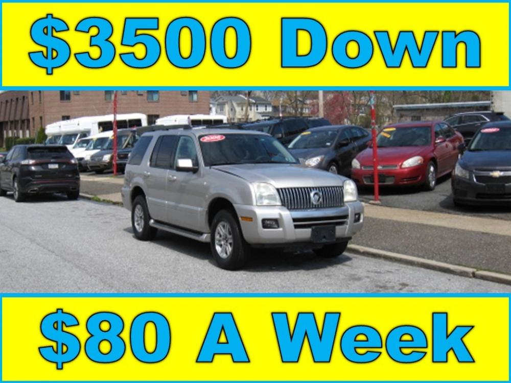 2006 Silver /Gray Mercury Mountaineer Luxury 4.0L AWD (4M2EU47EX6U) with an 4.0L V6 SOHC 12V engine, 5-Speed Automatic Overdrive transmission, located at 577 Chester Pike, Prospect Park, PA, 19076, (610) 237-1015, 39.886154, -75.302338 - Photo #0
