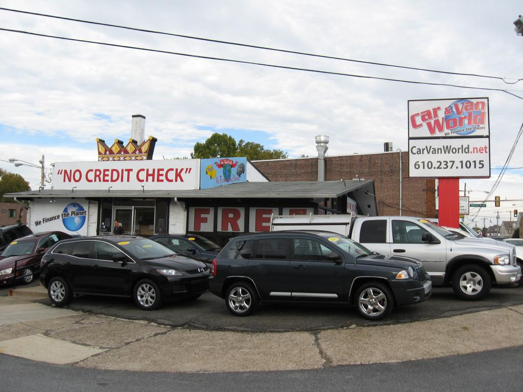 No Credit Check Car Lots >> Car Van World Used Bhph Cars Prospect Park Bad Credit Car Loan